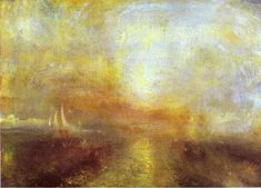 William Turner >> Yate de acercarse a la costa