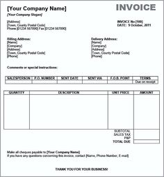 , Basic Invoice Template Word , The Uses Of Basic Invoice Template Word As you want to request the payments for varieties of goods and services, just download the basic invoice temp...