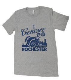 Rochester Workers Tee- Genesee Gear