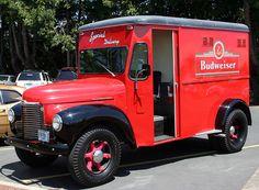 1947 International beer truck....