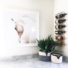 Repost from our managing editor, @kellilamb_. Those baskets by @thayerdesignstudio are so unique!