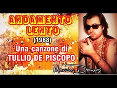 ANDAMENTO LENTO (T.De Piscopo) - Marco Danesi (2015) - YouTube