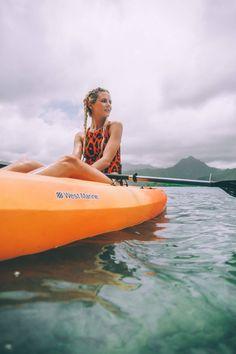 Kayaking Adventure with Shiseido Sports BB WetForce - Barefoot Blonde by Amber Fillerup Clark