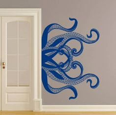 Allison MackWall Decals · Master Bed above bathroom entrance - can be found  on Amazon (https    5a73640f2