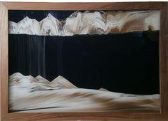 KB The sandman, Sand-Art by Klaus Bösch since 1988 Sand Pictures, Sand Art, Austria, Minerals, Relax, Tapestry, Colours, Landscape, Create