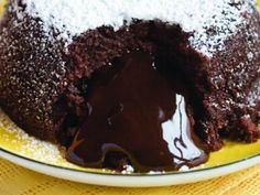 Chocolate Lava Cakes Recipe | http://aol.it/1gw0LqI