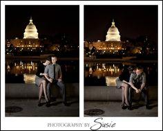Washington DC Night Portraits | Washington DC Portrait Photographers