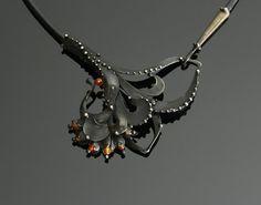 Carnelian Necklace by OlivOva on Etsy, $290.00