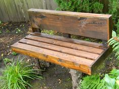 20 DIY Garden Bench Ideas That Are Out Of the Ordinary - Garden Lovers Club