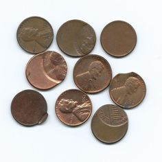 Error Lincoln cents are interesting and fun to collect. Type of errors include: clipped planchet, blank planchet, defective die, off-center strike, and broadstrike.