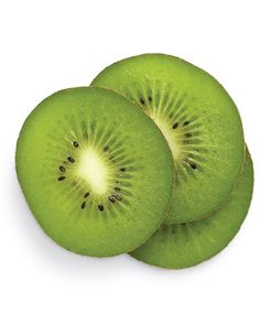 Kiwi - The high vitamin C levels in kiwi fight free-radical damage and even out skin texture. When scrubbed on the face, the seeds act as tiny exfoliators, leaving skin smooth. Peel and slice a ripe kiwi, then mash the flesh thoroughly with a fork. With circular motions, work the kiwi paste onto a damp, clean complexion, avoiding the eye and lip areas. After 30 to 60 seconds of scrubbing, rinse skin with warm water and pat dry.