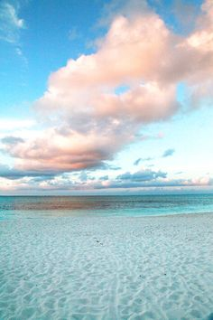 Turks and Caicos -- looks like cotton candy ice cream we saw advertised in a passing shop window...