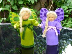 Jahreszeitentisch -  Blumenkind Jahreszeitentisch *Schmetterling* - ein Designerstück von carinspuppentraeume bei DaWanda