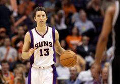 Steve Nash #basketball #NBA #sports #inspiration #Phoenix #Suns #Dallas #Mavericks #LA #Lakers