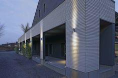 Delwa Curve LED Exterior Wall Sconce | SLV Lighting at Lightology