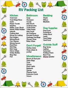 How to rv camping ideas the right way family camping hacks, camping ideas packing, rv camping checklist Camping Ideas, Camping Hacks, Checklist Camping, Camping Bedarf, Travel Trailer Camping, Retro Camping, Camping Packing, Family Camping, Outdoor Camping