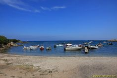 La plage de Sant'Anna - Sardaigne