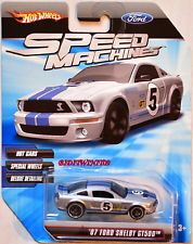 Hot Wheels Speed Machines 07 Ford Shelby Gt500 Silber W Hot