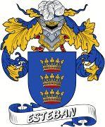 De Esteban Spanish Coat Of Arms www.4crests.com #coatofarms #familycrest #familycrests #coatsofarms #heraldry #family #genealogy #familyreunion #names #history #medieval #codeofarms #familyshield #shield #crest #clan #badge #tattoo #crests #reunion #surname #genealogy #spain #spanish #shield #code #coat #of #arms