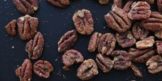 Gingerbread-Spiced Pecans (a not-so-subtle reminder that the festive season is just around the corner).