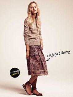 La jupe Liberty
