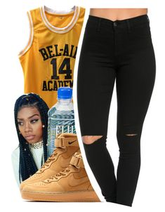 """""""Neighbors"""" by queen-vanessa ❤ liked on Polyvore featuring NIKE"""