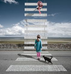 Crosswalk to Heaven by Alastair Magnaldo