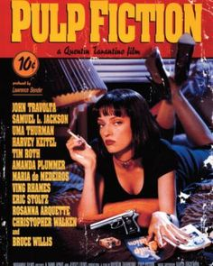 Pulp Fiction Movie Poster - POP CULTURE POSTERS