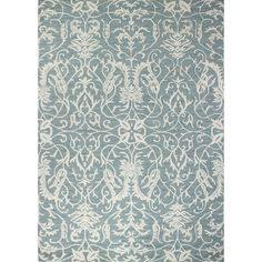 Found it at Joss & Main - Izora Hand-Tuffted Aqua Area Rug