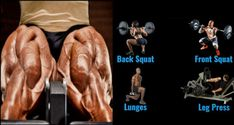 Build Monster Legs & Glutes With This Workout - Photo Muscle Mass, Gain Muscle, Rumpf Training, Strength Training, Leg And Glute Workout, Chest Workouts, Cardio Workouts, Fat Workout, Body Workouts