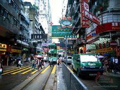 Hong Kong street.