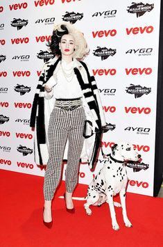 1001 Dalmatiner Cruella de Vil Kostüm selber machen   Kostüm Idee zu Karneval, Halloween & Fasching