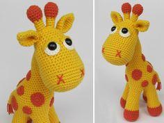 Häkelanleitungen - Giraffe Neli Häkelanleitung / Amigurumi - ein Designerstück von DioneDesign bei DaWanda