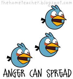Control your anger FHE: Don't Be An Angry Bird: Slingshot, Pigs, Blue Birds, Big Red Bird and Introducing Ice Bird Angry Birds Slingshot, Counseling Crafts, Cartoon Silhouette, Bird Birthday Parties, Fhe Lessons, Bird Clipart, Walk In The Light, Elementary School Counseling, Bird Party
