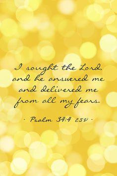 Psalm 34:4