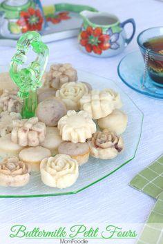 Buttermilk Petit Fours. Quick recipe ready in 26 minutes!