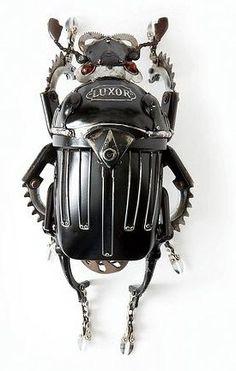 esculturas de escarabajos - Buscar con Google