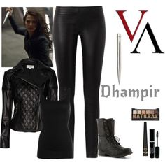 Vampire Academy - Rose Hathaway by gone-girl on Polyvore featuring mode, NIC+ZOE, Temperley London, The Row, Madden Girl and Barry M