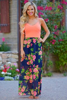 Dream In Neon Maxi Dress from Closet Candy Boutique - #newarrival #restock