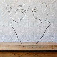 "⭕""Corpus Callosum"" steel wire sculpture by Gavin Worth ⏩@gavinworth ⭕  #wire #sculpture #creative #creativity #creatividad #inspiring #inspiration #inspire #inspired #art #artist #artistic #artistico #artwork #artista #artistry #designplusmag #beautiful"