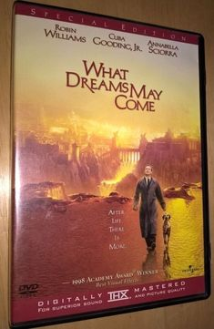 What Dreams May Come ~ Robin Williams Cuba Gooding Jr SPECIAL EDITION DVD MOVIE