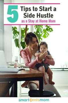 5 Tips to Start a Side Hustle - - Tips to start a side hustle as a stay at home mom without losing your mind! Starting a side hustle as a stay at home mom can be overwhelming these tips help. Earn Extra Cash, Making Extra Cash, Extra Money, Hobbies That Make Money, Fun Hobbies, Way To Make Money, Easy Money Online, Best Online Jobs, Stay At Home Mom