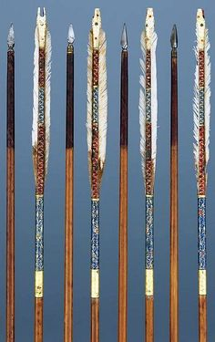 Ottoman arrows, Museum Hessen Kassel.