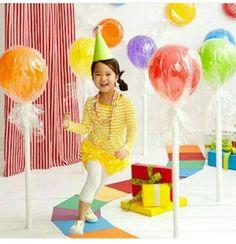 Воздушные шары-леденцы