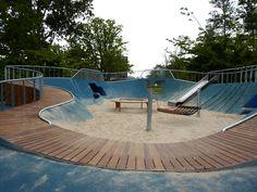 snygg hantering av räckets överliggare. melis-stokepark-4 « Landscape Architecture Works | Landezine