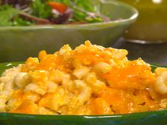 Crock Pot Creamy Macaroni and Cheese recipe from Paula Deen. This is so going against my diet... But this is my favorite mac & cheese. I make it for every holiday :)