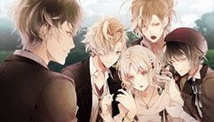 Diabolik Lovers More Blood Yui and Mukami Brothers