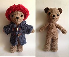 This furry friend is cuddly, soft, lovable, … a real cutie! - free crochet pattern
