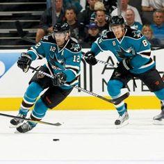 Sports Photography: Sharks Hockey Team. Pavs and Patty! Finally I found something about my favorite hockey team!