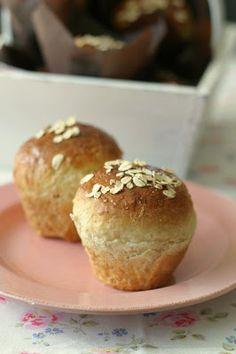 Marias Salt og Søtt: Frokostboller med vanilje, banan og havregryn